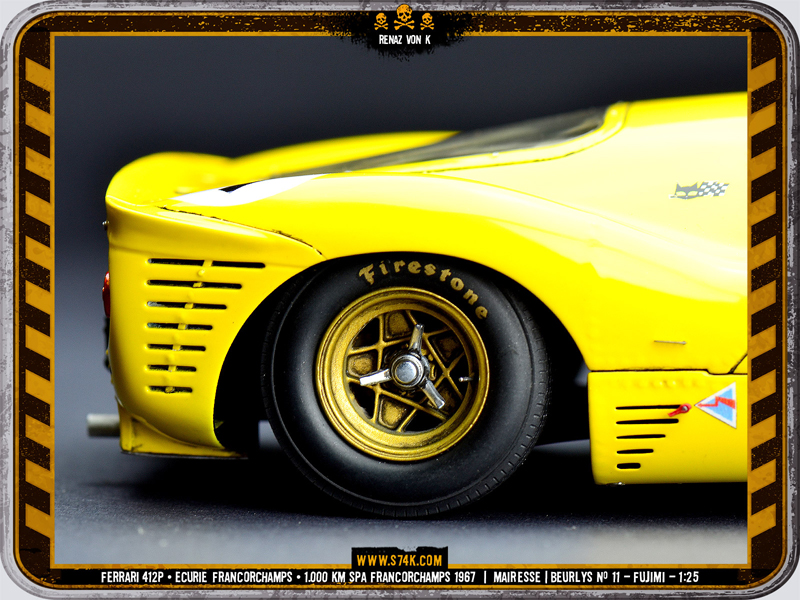Ferrari 412P | Ecurie Francorchamps
