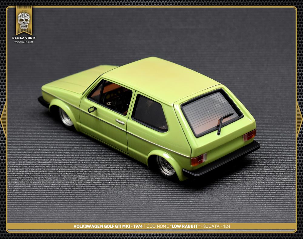 Volkswagen Golf MKI Low Rabbit