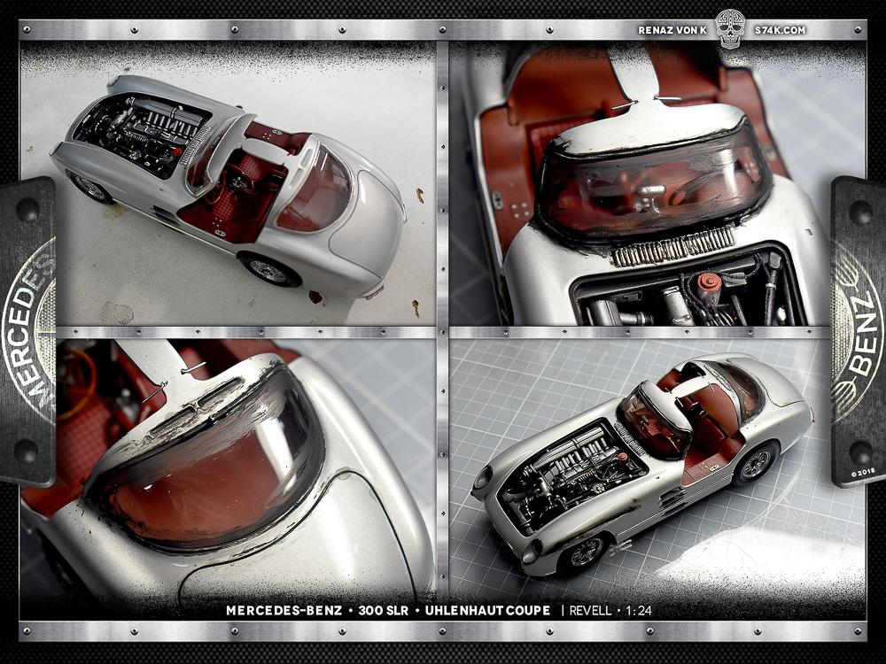 Mercedes-Benz 300 SLR | Uhlenhaut Coupe