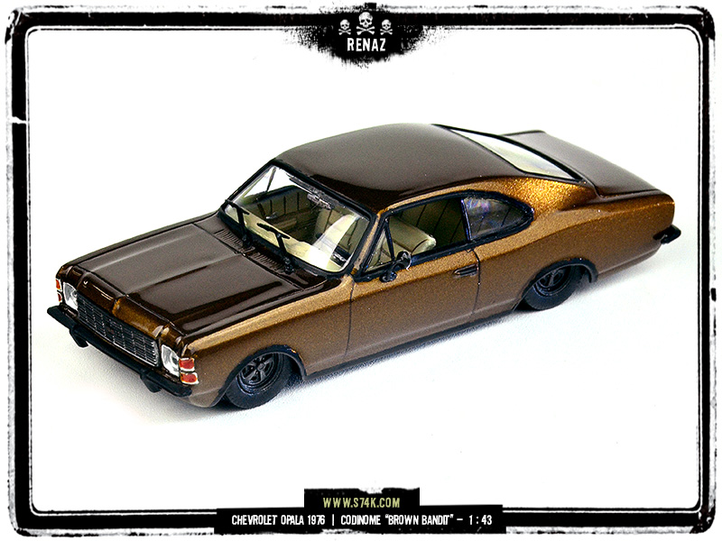 Chevrolet 1976 Brown Bandit
