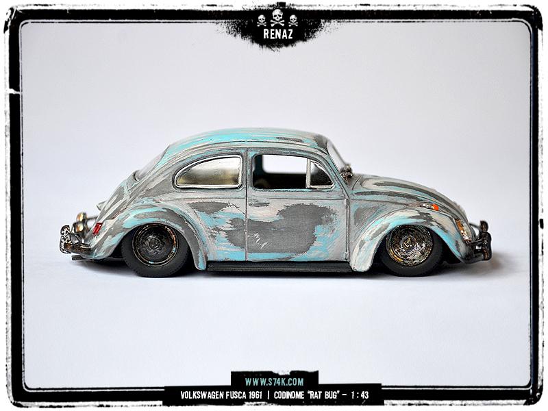 Volkswagen 1961 Rat Bug